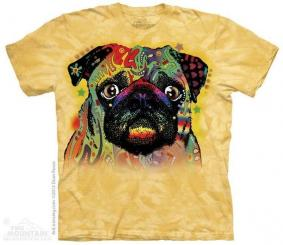 Футболка Colorful Pug цена от 1 750 руб