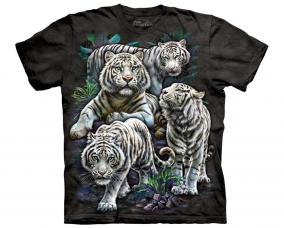 "Футболка с тигром ""Majestic White Tigers"" цена от 1 450 руб"