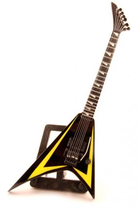 Мини-гитара Children of Bodom - ESP Signature Yellow Black цена от 999 руб